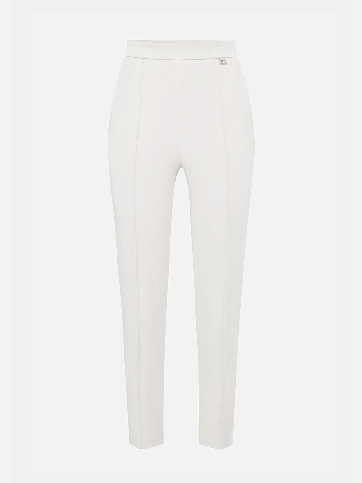 Pantalone dritto avorio Elisabetta Franchi   PA38711E2360