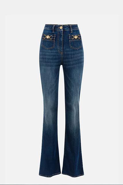 Elisabetta Franchi Jeans 5 Tasche Donna Denim Elisabetta Franchi   PJ96S11E2192