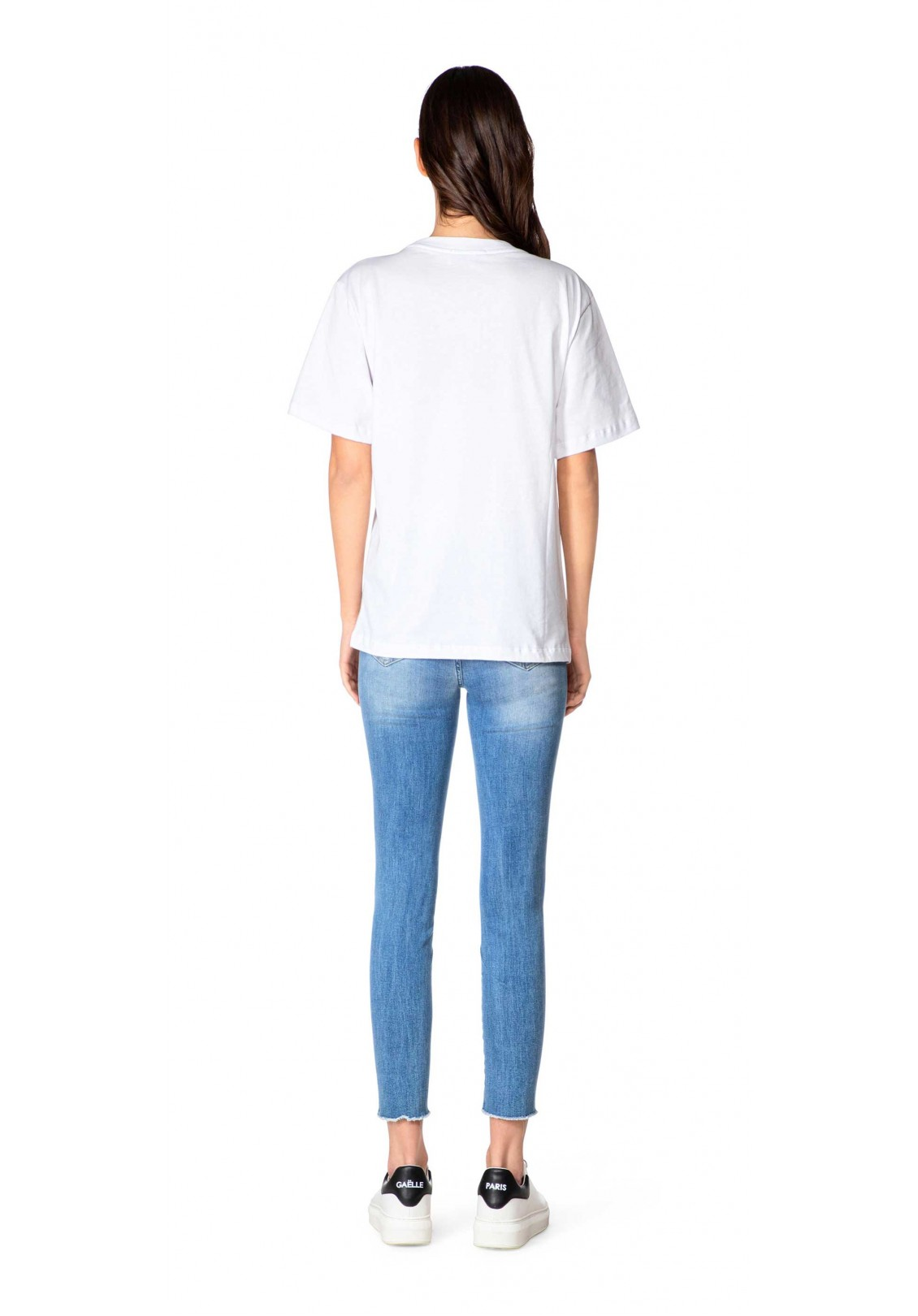 Gaelle T-shirt Donna Bianco Gaelle | GBD8762BIANCO