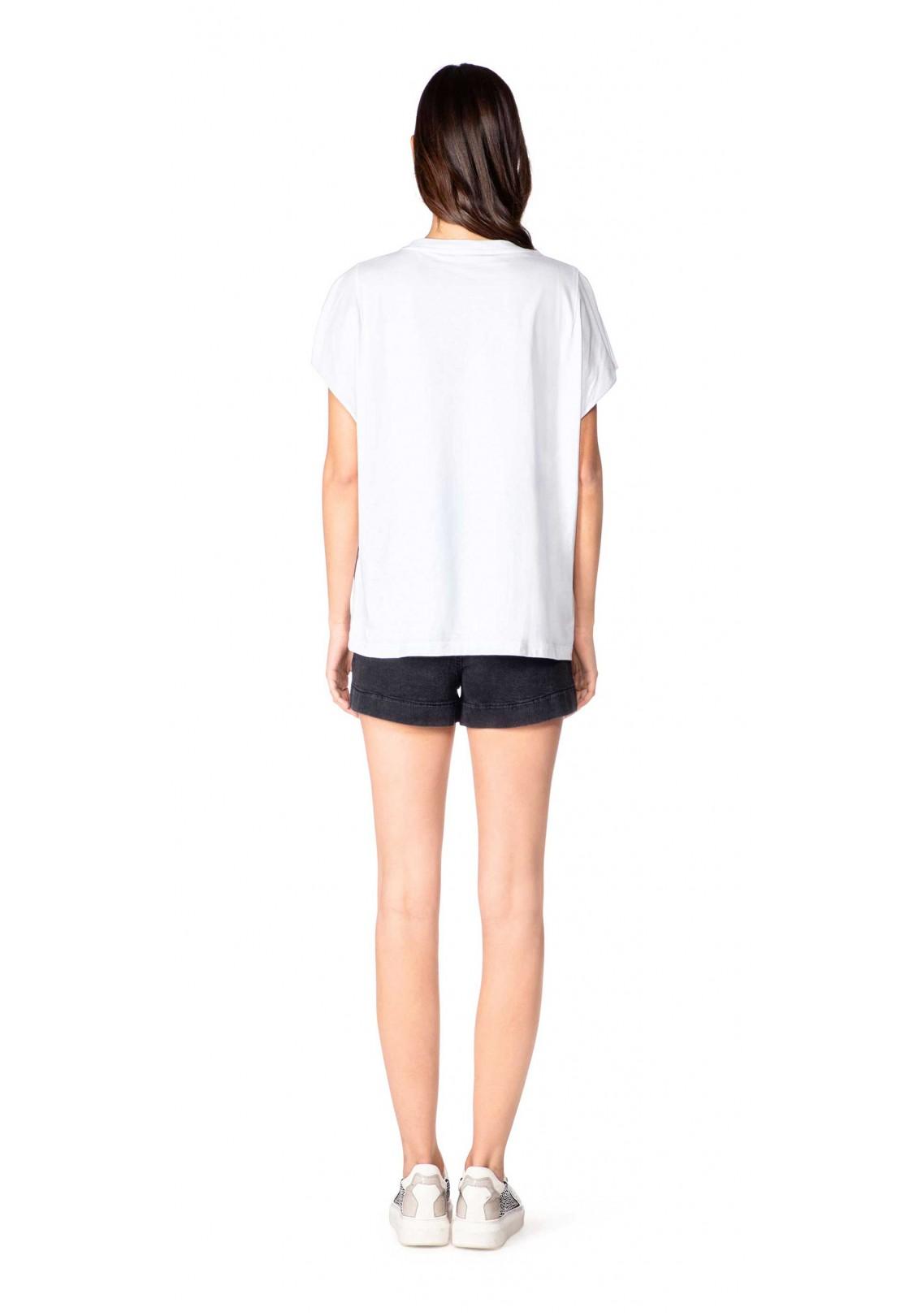 Gaelle T-shirt Donna Bianco Gaelle | GBD8823BIANCO