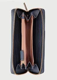 Portafoglio con zip donna celeste Liu Jo | AA10487E002774111