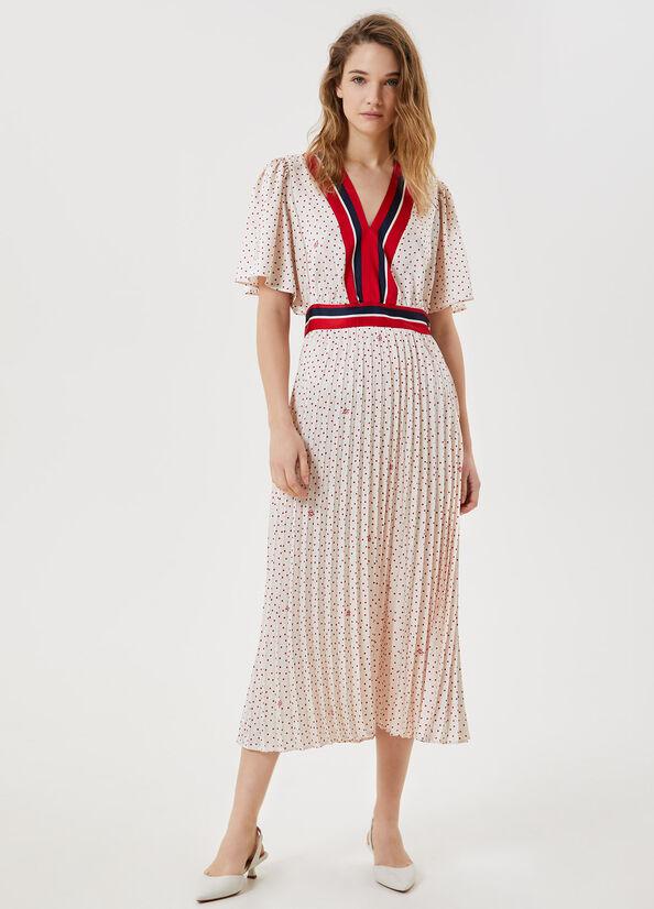 Liu Jo Abito Donna Bianco e rosso Liu-Jeans | WA1453T5263T9682