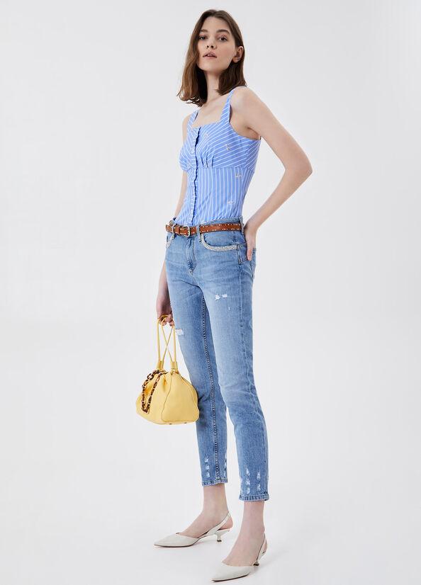 Liu Jo Top Donna Celeste Liu-Jeans   WA1536T4826T9636