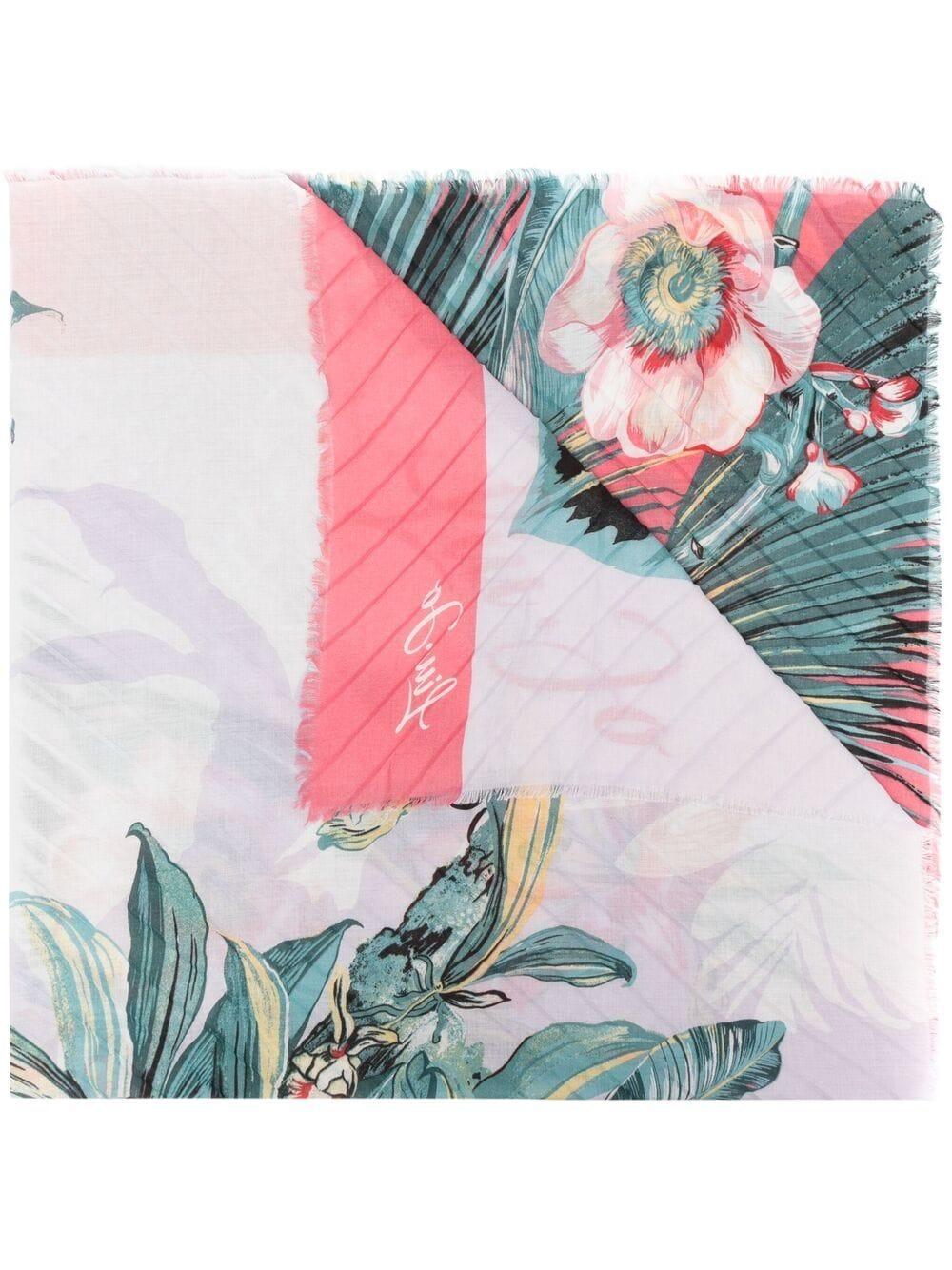 Foulard donna tropical Liu.Jo Accessori | 2A1086T030061620