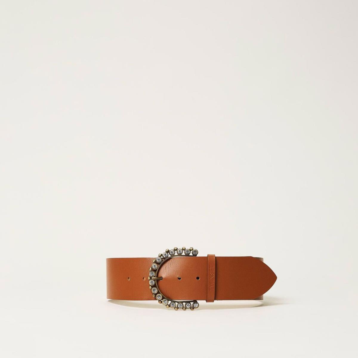 Cintura donna in cuoi Twinset Accessori   211T0506100057