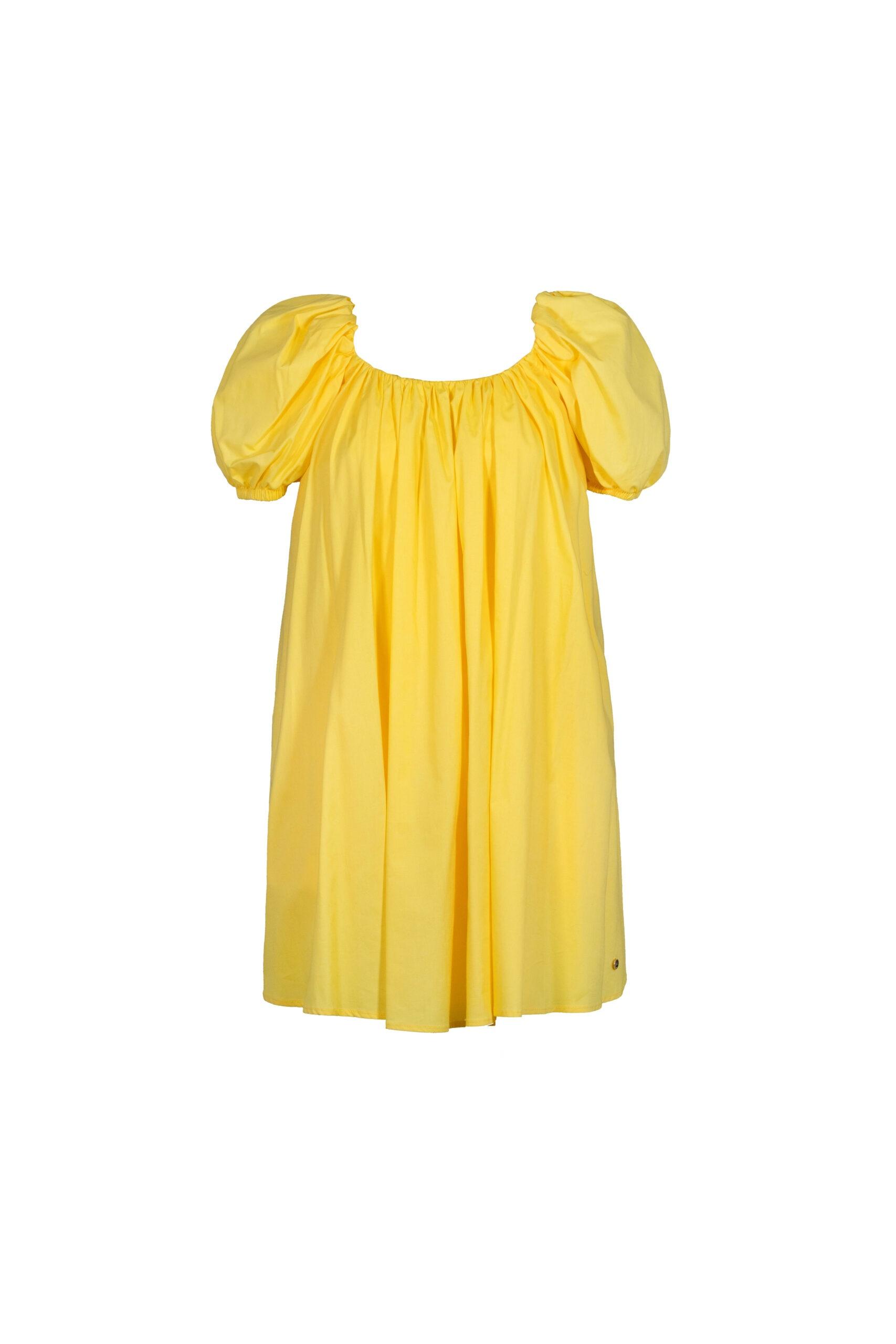 Abito corto donna giallo Very Simple   21PEV439GIALLO