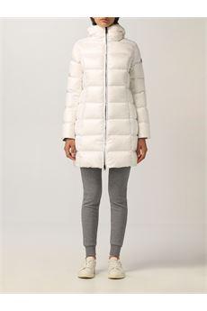 Piumino lungo donna bianco Colmar | 22215WG01