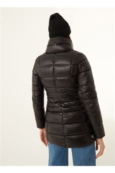 Piumino lungo donna nero Colmar | 22715WG99