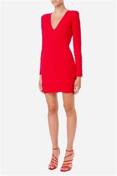 Mini abito donna colore rosso rudy Elisabetta Franchi | AM26Q16E2D97