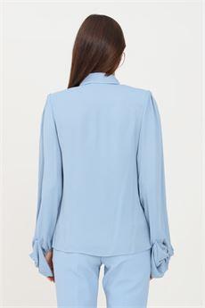 Camicia Donna baby blue Elisabetta Franchi | CA32216E2080