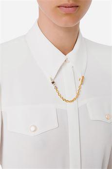 Camicia Donna bianco Elisabetta Franchi | CA32216E2360
