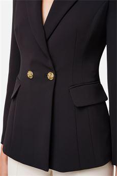 Giacca donna nero Elisabetta Franchi | GI97116E2110