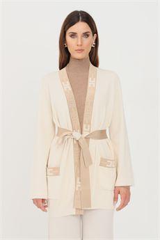 Cardigan donna a vestaglia Elisabetta Franchi | MK53S16E2U69