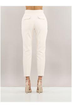 Pantalone donna color burro Elisabetta Franchi   PA39016E2193