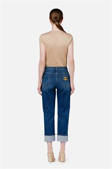 Jeans donna mom fit Elisabetta Franchi | PJ10D16E2139