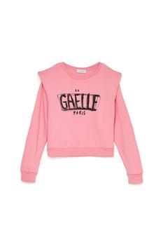 Felpa donna rosa Gaelle | GBD10142ROSA