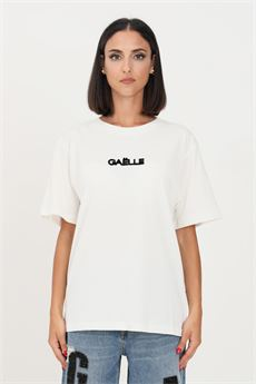 T-shirt donna bianca Gaelle | GBD10220BIANCO