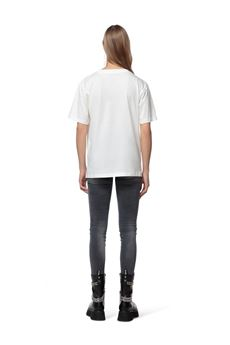 T-shirt donna bianca Gaelle   GBD10220BIANCO