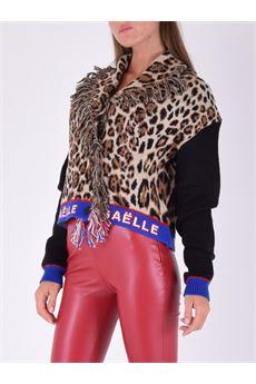 Cardigan donna leopardato Gaelle | GBD10322LEOPARDATO