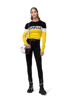 Pantalone donna nero Gaelle   GBD10400NERO