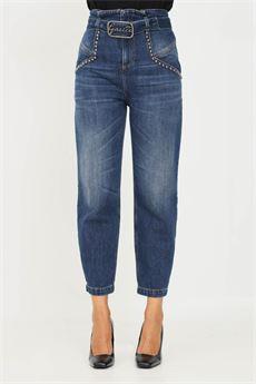 Jeans donna di colore blu Gaelle | GBD10435BLU