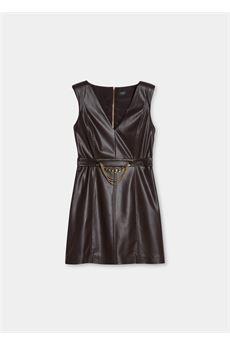 Vestito corto donna color cioccolato Liu Jo | CF1008E0641X0385