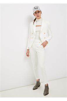 Lupetto donna bianco a maniche lunghe Liu Jo | CF1164MA99EX0256