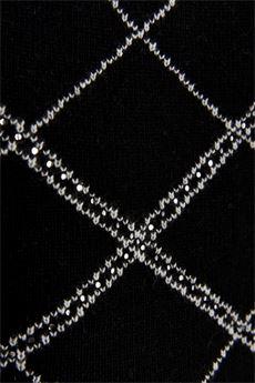 Top dona jacquard nero e bianco Liu Jo | CF1184MA76LU9780