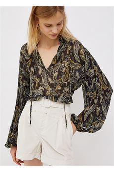 Camicia donna plissé stampata Liu-Jeans | WF1003T5975T9977