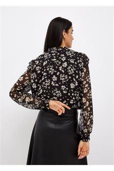 Blusa donna bianca e nera Liu-Jeans | WF1201T8726T9972