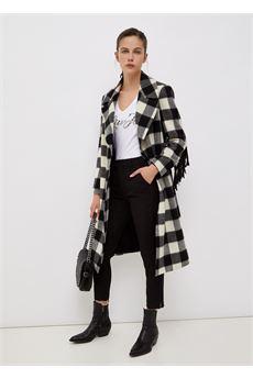 Pantalone donna a vita alta nero Liu-Jeans | WF1207T789622222