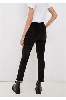 Pantalone donna in velluto nero Liu-Jeans | WF1336T459022222