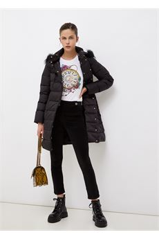 Pantalone donna in velluto nero Liu-Jeans   WF1336T459022222