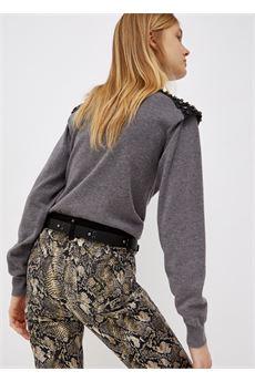 Dolcevita donna grigio scurop Liu-Jeans | WF1421MA82L02065