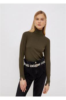 Dolcevita donna verde Liu-Jeans | WF1428MA49I90511