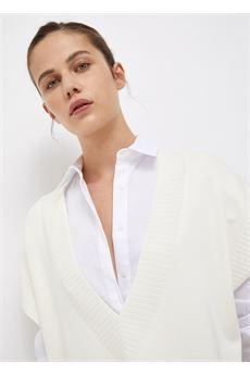 Gilet donna bianco Liu-Jeans | WF1454MA49I10701