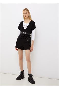 Gilet donna nero Liu-Jeans | WF1454MA49I22222