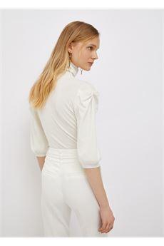 Dolcevita donna di colore bianco Liu-Jeans | WF1532MA49I10701