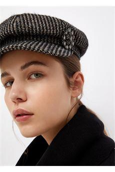 Cappello donna bianco e nero Liu.Jo Accessori | 3F1079T030000054