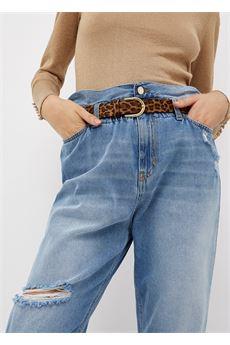 Jeans donna boyfriend a vita alta Liu.Jo Denim | UF1048D462378223