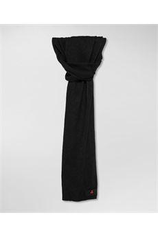 Sciarpa uomo di colore nero Peuterey | ADASICNER