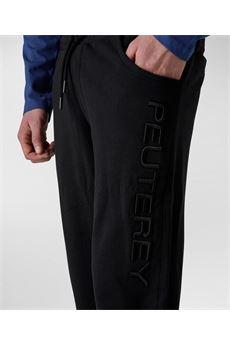 Pantalone tuta uomo nero Peuterey | DISCUSNER