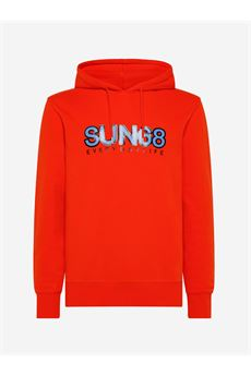 Felpa uomo arancione Sun 68   F4111303