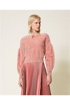 Cardigan donna color Rosa Canyon  Twinset | 212TP301000430