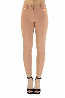 Pantalone skinny rosa gold Elisabetta Franchi | PA36211E2W71