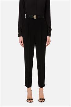 Pantalone skinny nero Elisabetta Franchi | PA38211E2110