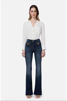 Elisabetta Franchi Jeans 5 Tasche Donna Denim Elisabetta Franchi | PJ96S11E2192