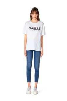 Gaelle T-shirt Donna Bianco Gaelle | GBD8471BIANCO