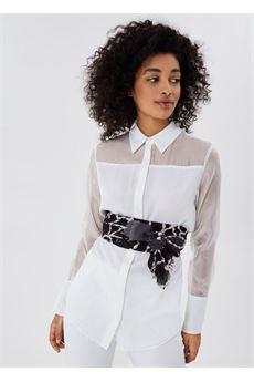 Foulard donna nero e bianco Liu.Jo Accessori | 2A1087T030022222