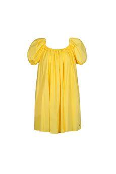 Abito corto donna giallo Very Simple | 21PEV439GIALLO
